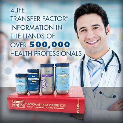 4Life TF Information the hands of over 500,000 health professionals